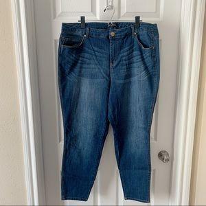 1822 Denim ankle skinny jean